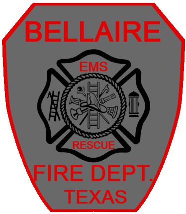 Bellaire Fire Department Patch