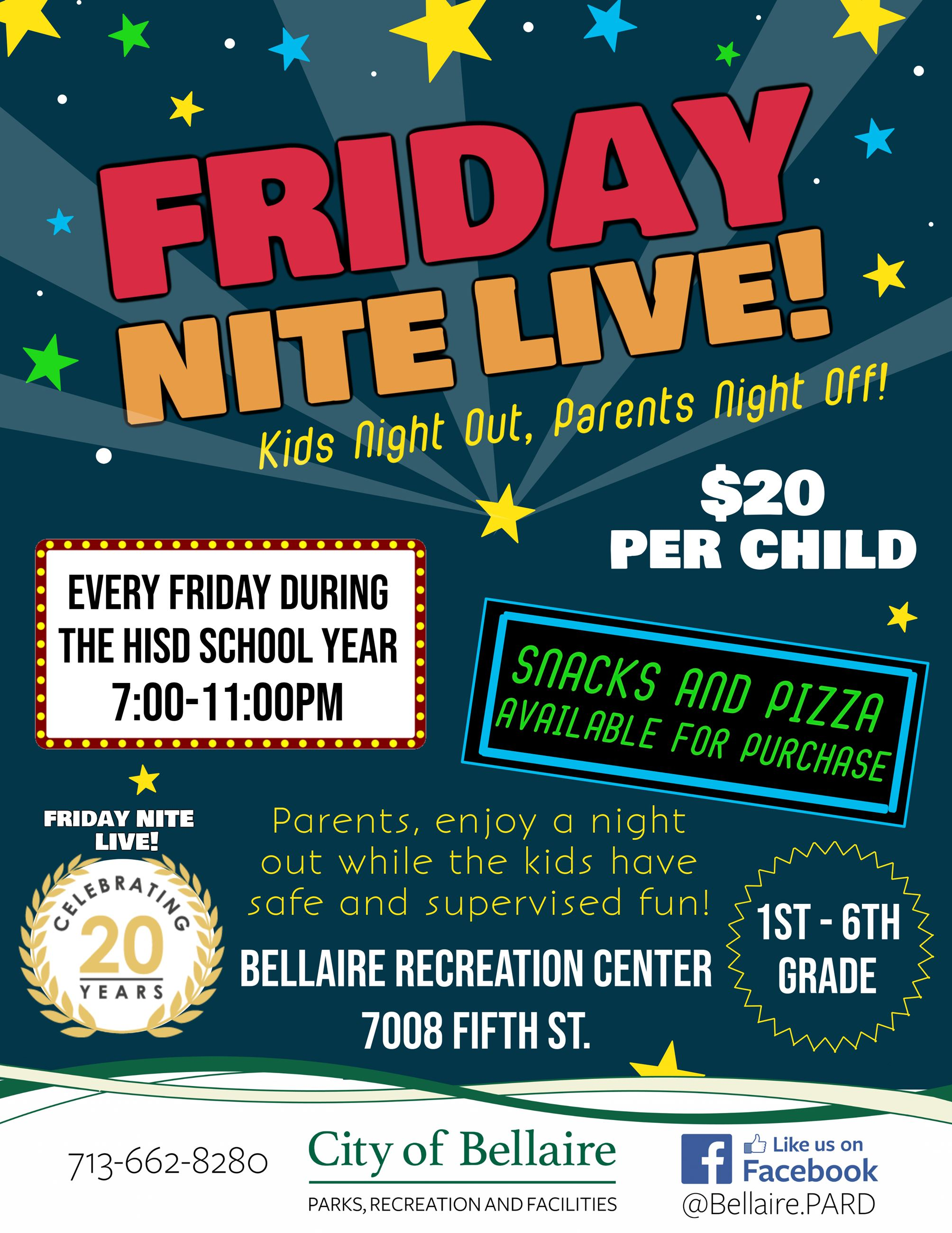 Friday Nite Live