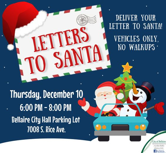 Letters to Santa Newsflash Image