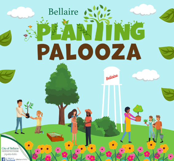 Planting Palooza- a city wide planting initiative during the month of April!