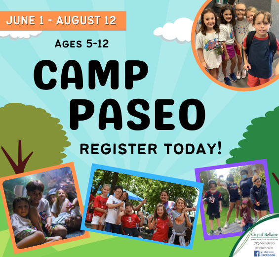 Camp Paseo 2021 - Register Today
