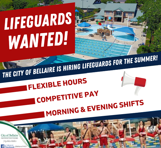 Hiring Lifeguards Flyer 2021