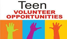 Teen Volunteers Opens in new window